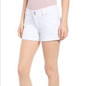 NWT Hudson Croxley Cuff Denim Shorts 32